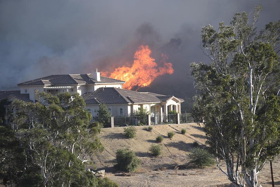 Socal Fires Photograph