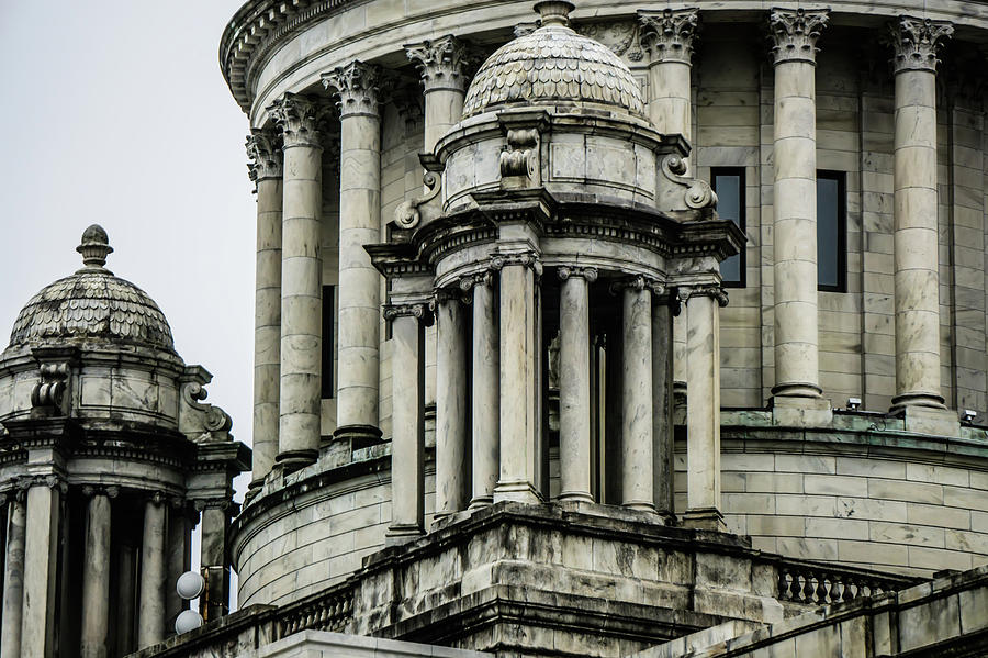 House Photograph - The Rhode Island State House On Capitol Hill In Providence by Alex Grichenko