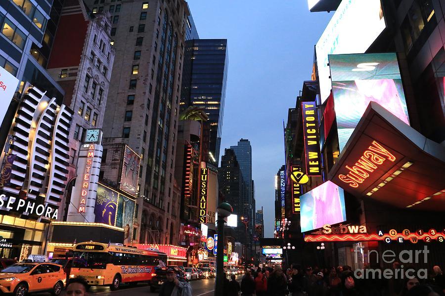 Destination Photograph - Times Square by Douglas Sacha