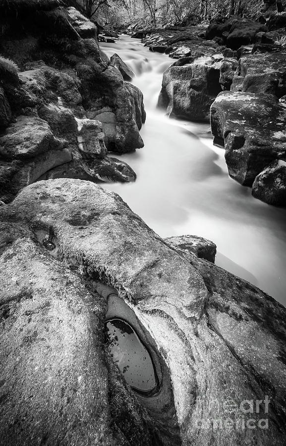 Waterfall On The River Wharfe Photograph