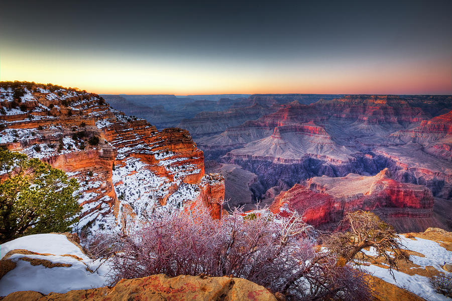 Winter South Rim Grand Canyon National Park
