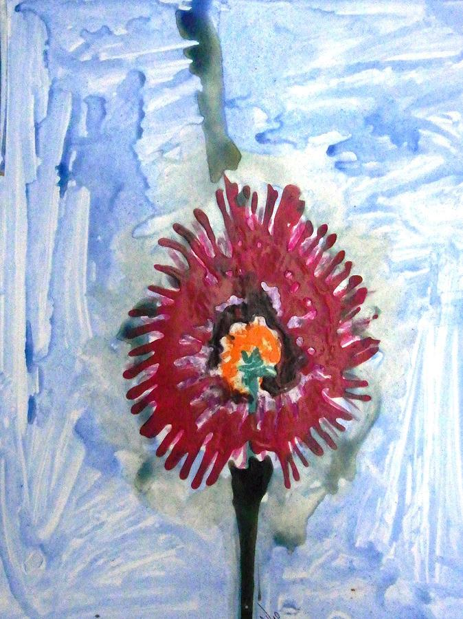 Flowers Painting - Divine Flowers by Baljit Chadha