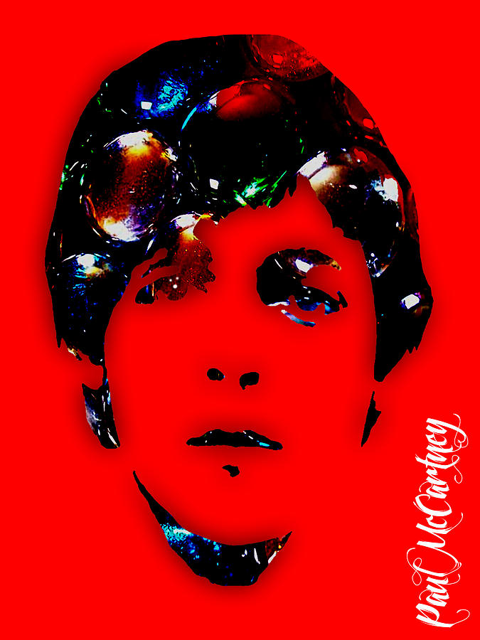 Paul McCartney Collection Mixed Media by Marvin Blaine