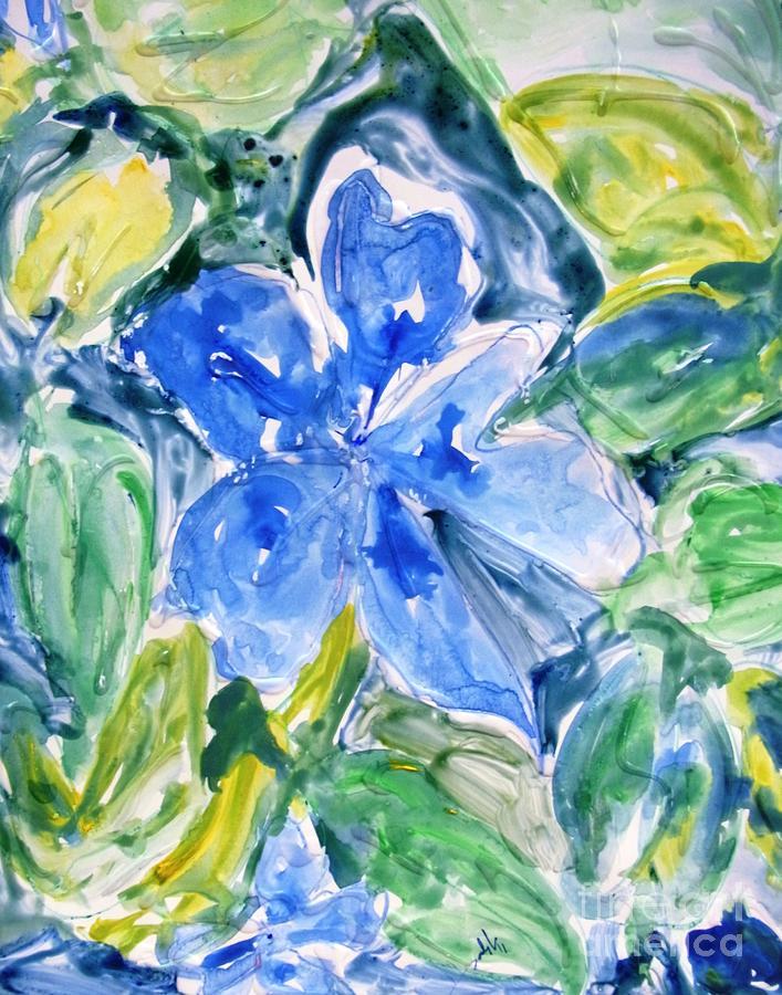 Flowers Painting - Divineflowers by Baljit Chadha