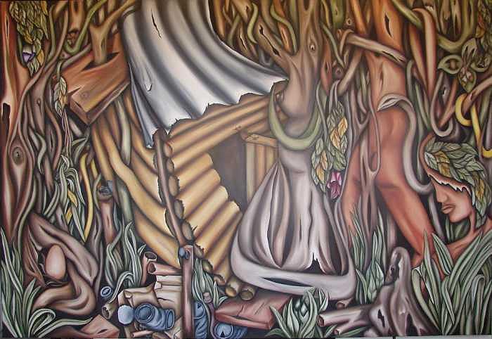 Entorno Painting by Jorge Diaz