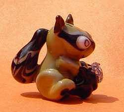 Racoon Thief Sculpture by Cecilia Alvarez