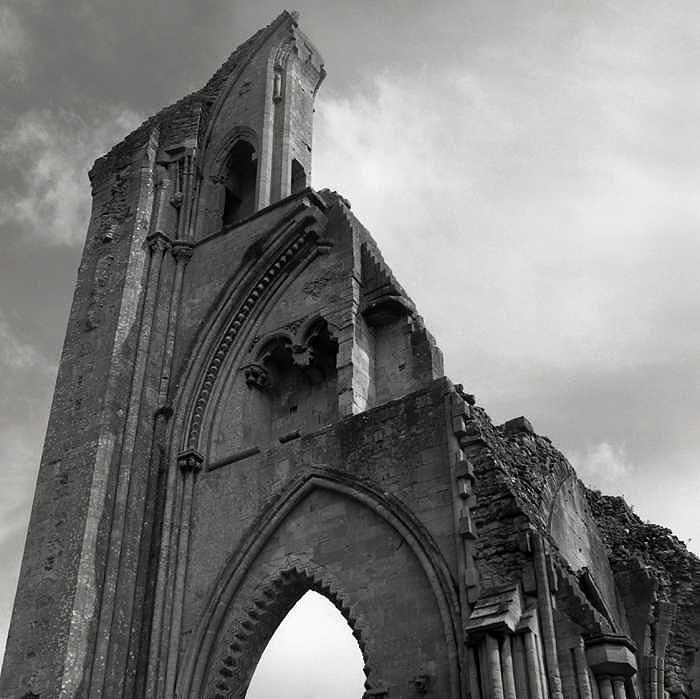 Glastonbury Abbey Photograph by Hope Greene