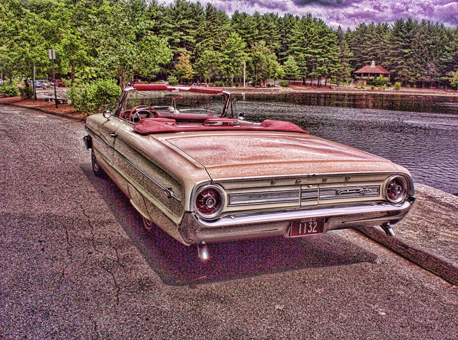 Ford Photograph - 64 Ford by Paul Godin
