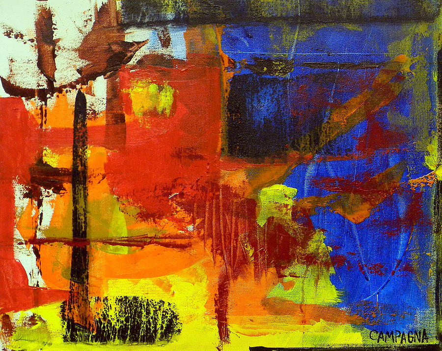 Acrylic Paint Painting - Untitled by Teddy Campagna