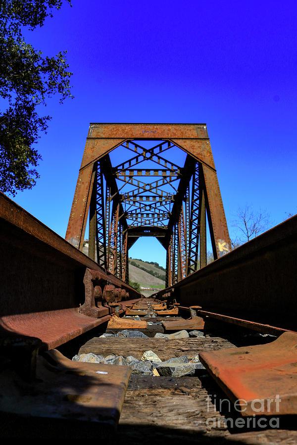 Bridge Photograph - 6696 Railroad Bridge by Craig Corwin