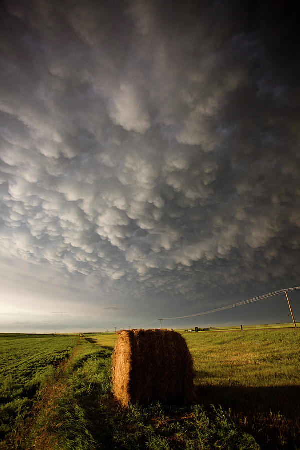 Storm Photograph - Prairie Storm Clouds by Mark Duffy