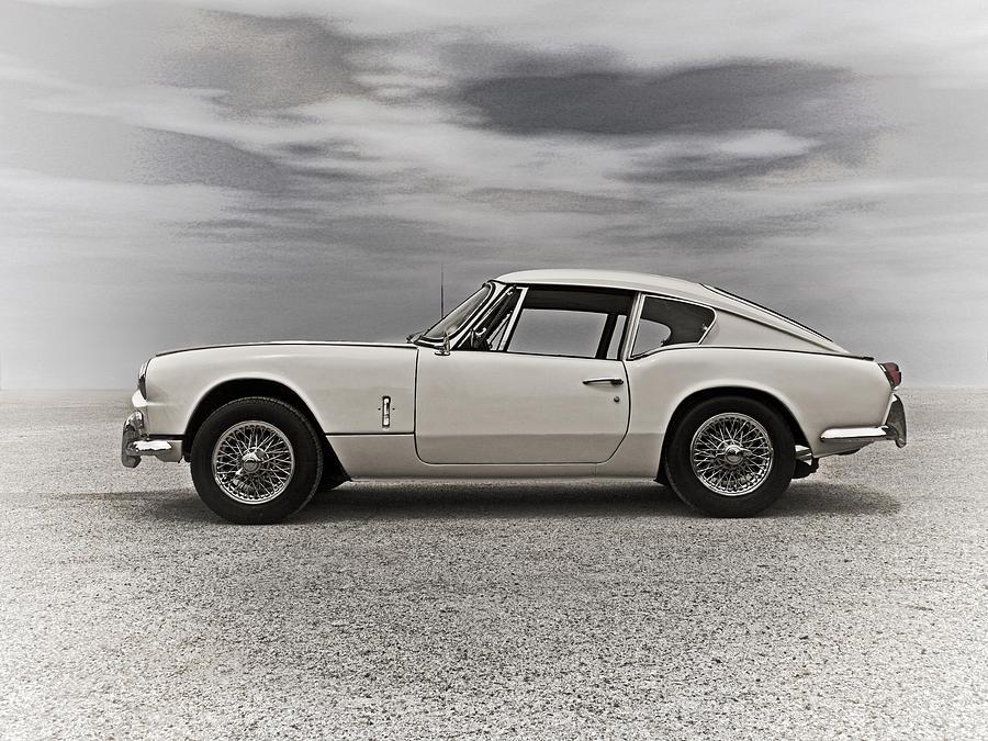 Vintage Digital Art - 67 Triumph Gt6 by Douglas Pittman