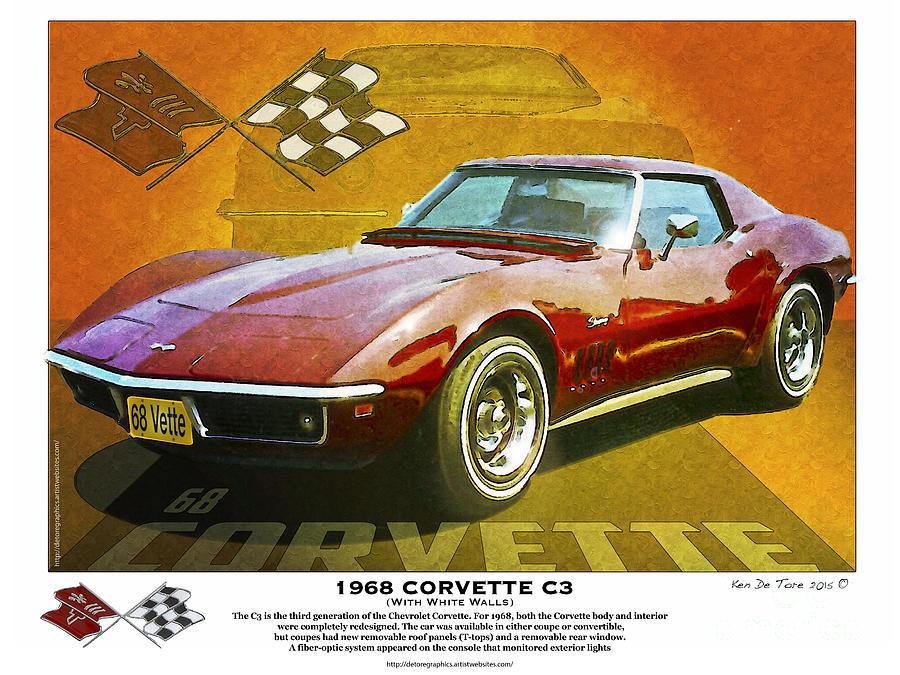 68 Corvette by Kenneth De Tore
