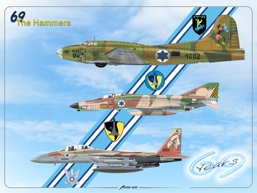 69 years to the Hammers Squadron by Amos Dor