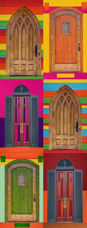 Door Digital Art - 6doors by Art Spectrum