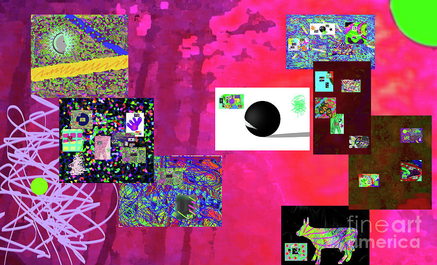 7-30-2015fabcdefghijklmnopq Digital Art by Walter Paul Bebirian