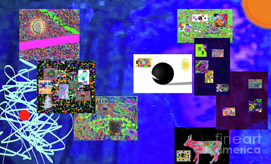 7-30-2015fabcdefghijklmnopqrtuvwxyzab Digital Art by Walter Paul Bebirian