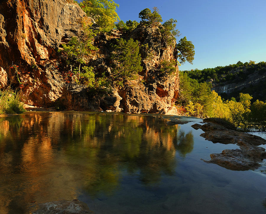 Creek Photograph - Arbuckle Mountains by Iris Greenwell