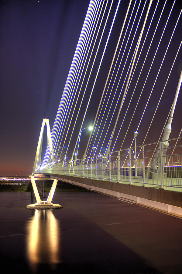 Arthur Photograph - Arthur Ravenel Jr. Bridge  by Dustin K Ryan