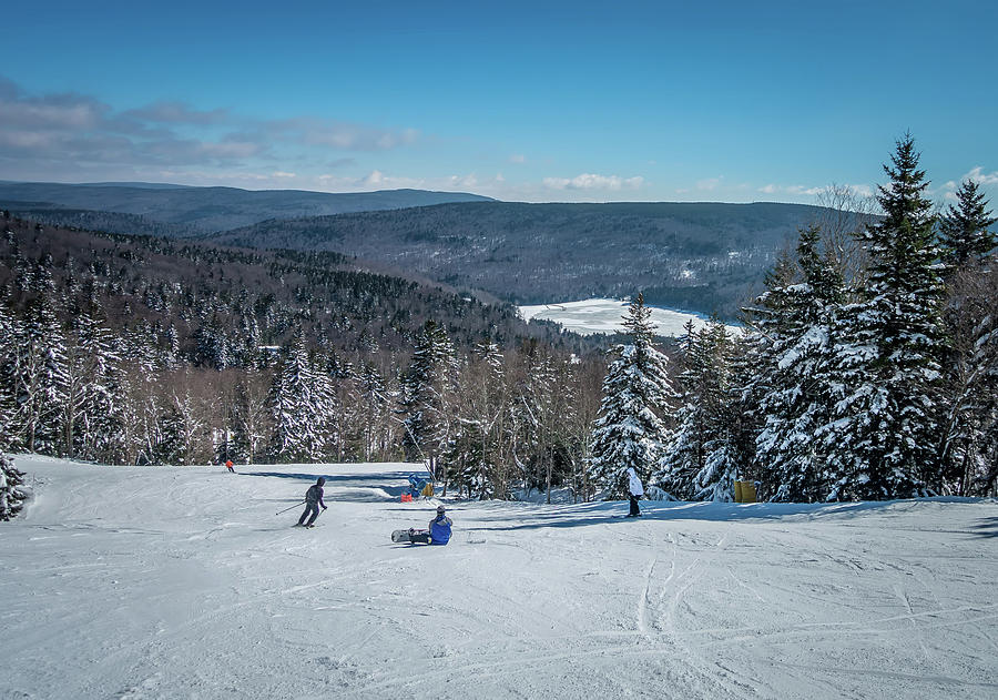 Cass Photograph - Beautiful Nature And Scenery Around Snowshoe Ski Resort In Cass  by Alex Grichenko