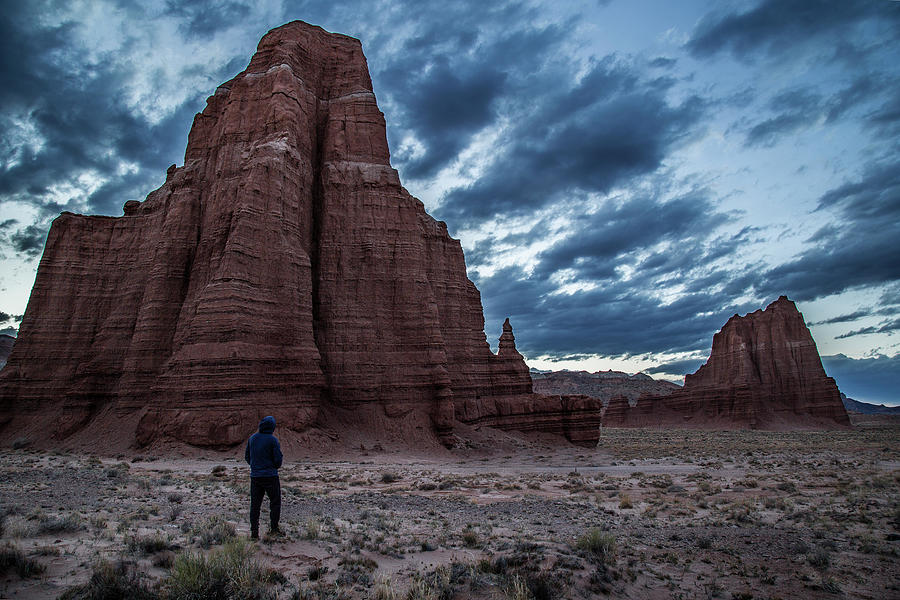 Capitol Reef Photograph - Cathedral Valley by Michael Just