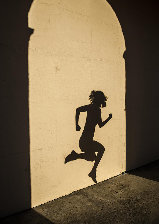 Girl Shadow Photograph by Luca Pudovkin