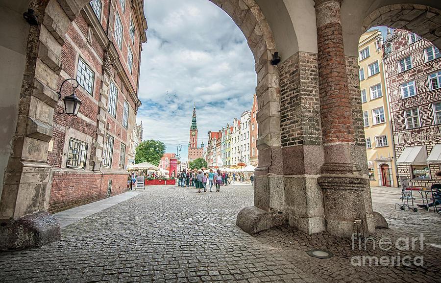 Green Gate, Long Market Street, Gdansk, Poland Photograph