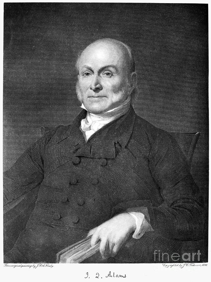 19th Century Photograph - John Quincy Adams by Granger