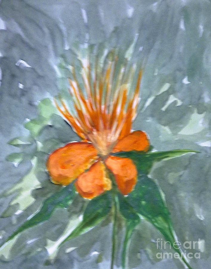 Floral Painting - Love Flowers by Baljitchadha