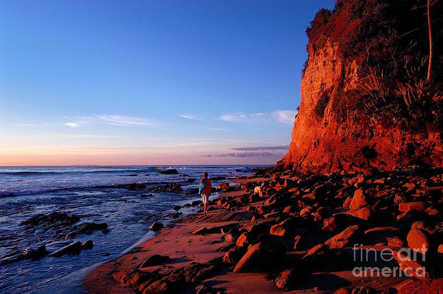 Malibu Photograph - Malibu Sunrise by Marc Bittan
