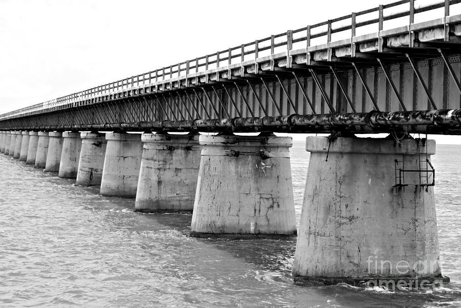 Bridge Photograph - 7 Miles by Kendra Longfellow