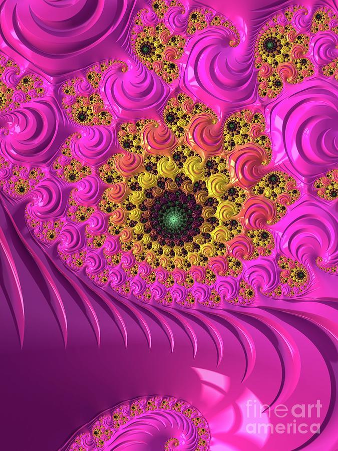 Fractal Digital Art - Mystic Universe, Fractals, Patterns And Designs by Esoterica Art Agency