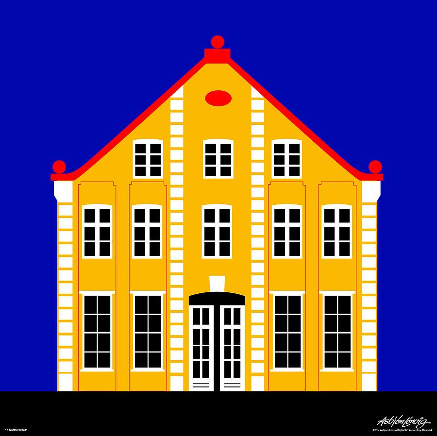 Architecture Digital Art - 7 North Street by Asbjorn Lonvig