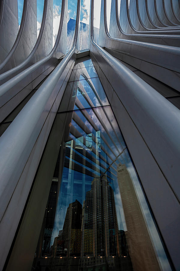 Architecture Photograph - Oculus Center Nyc by Robert Ullmann