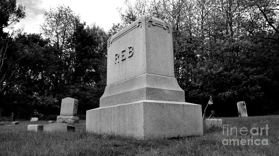 May Photograph - Odd Fellows Cemetery by Ben Schumin