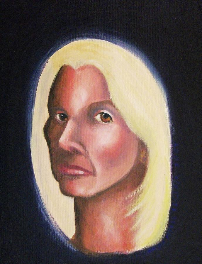 Self Portrait Painting - Self Portrait by Suzanne  Marie Leclair