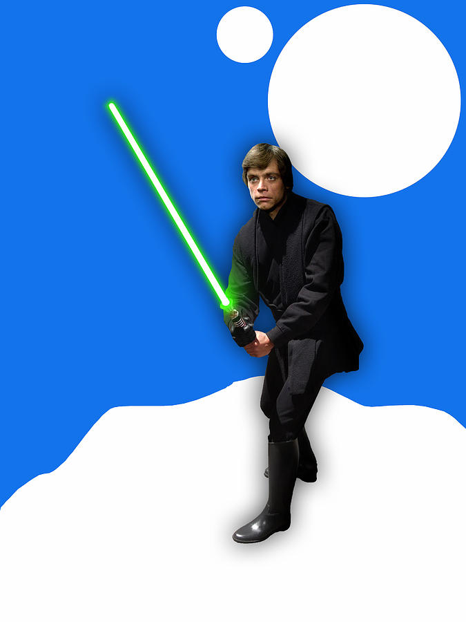 Luke Skywalker Mixed Media - Star Wars Luke Skywalker Collection 8 by Marvin Blaine