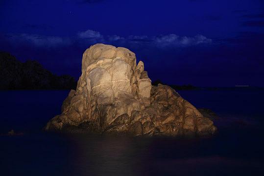 Landscape Photograph - Untitled - Series Night Coast by Markus Redert
