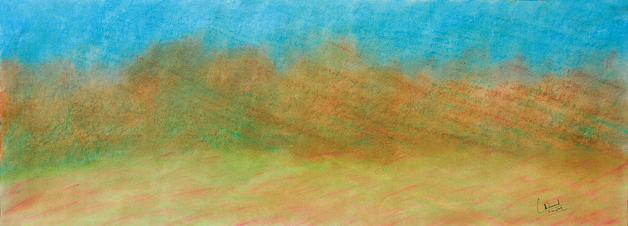 Abstract Painting - Untitled Abstract by Prasad Setty