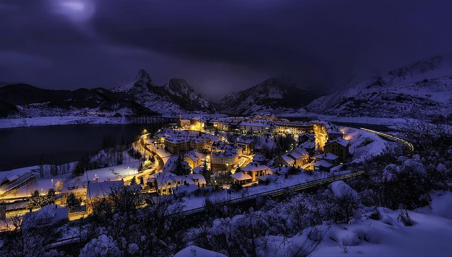 Winter Digital Art - Winter by Dorothy Binder