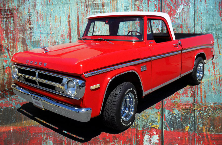 70 Dodge Truck Photograph by Victor Montgomery