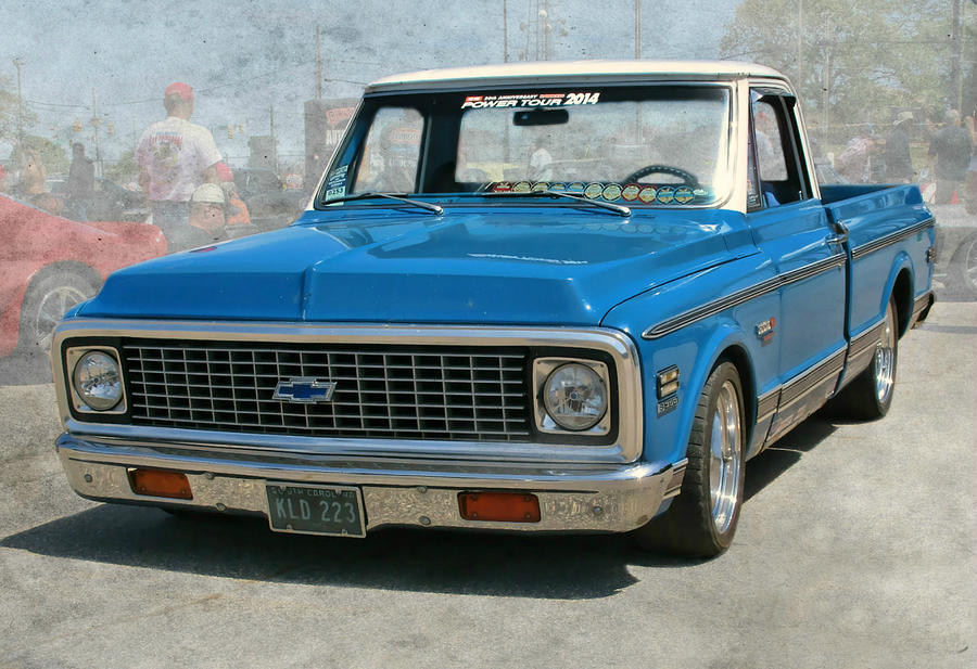 72 Chevy Truck Photograph By Victor Montgomery