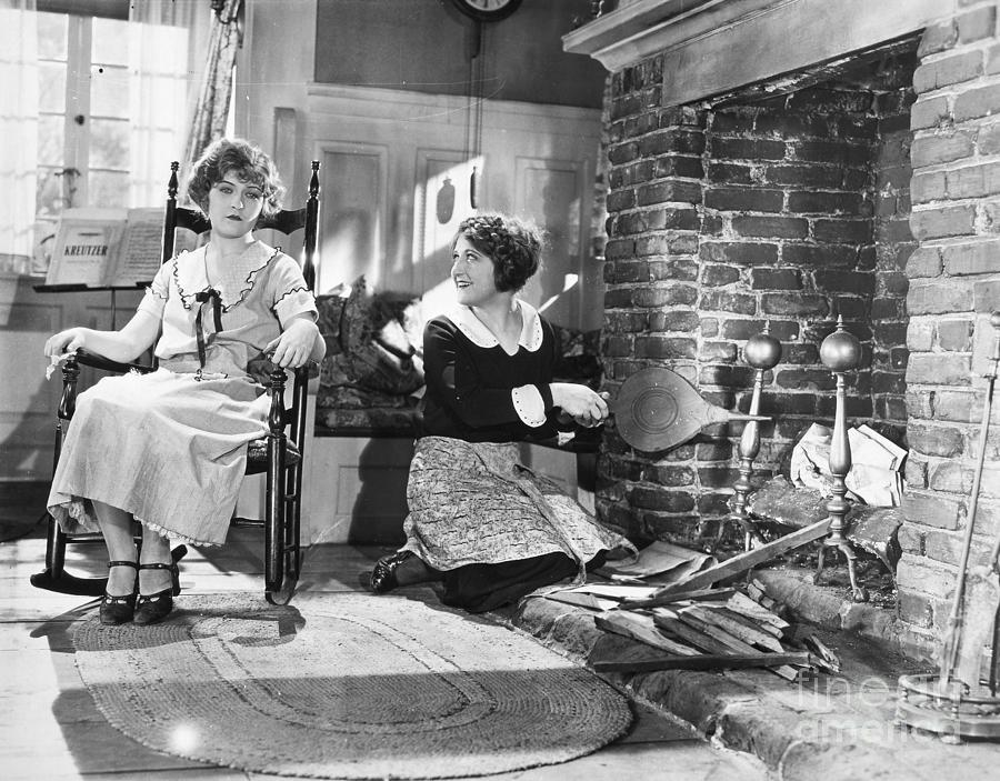 1910s Photograph - Silent Film Still by Granger