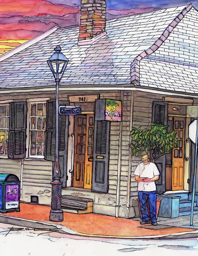 Louisiana Painting - 73 by John Boles