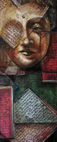 Buddhism Painting - Buddha 1 by Ixchel Amor