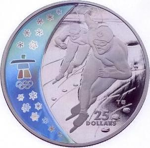 Olympic Painting - 2010 Olympic Coin Design by Tony Bianco