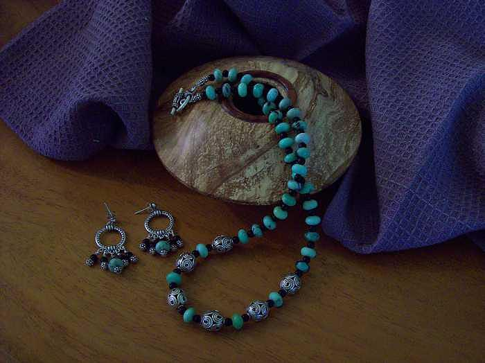 Turquoise Jewelry - Turquoise And Silver  by Melissa Songer