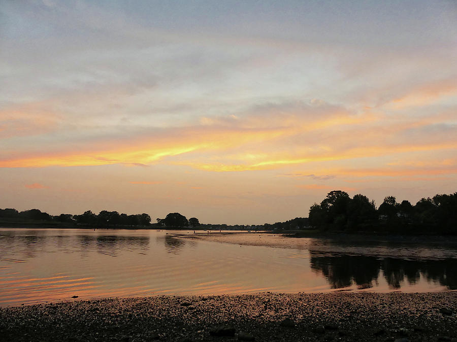 Danvers River Sunset Photograph