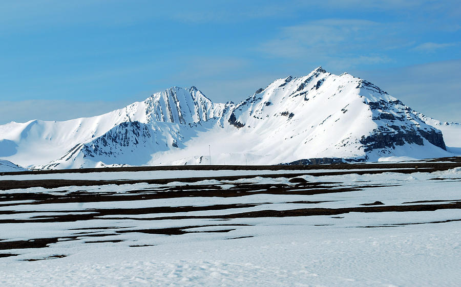 Arctic Photograph - 79 Degrees North B by Terence Davis