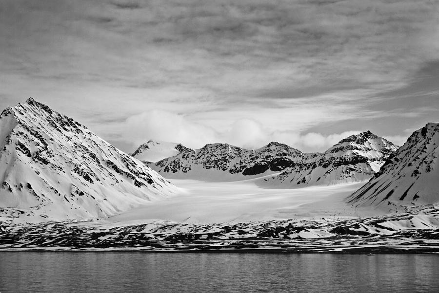 Black And White Photograph - 79 Degrees North O by Terence Davis